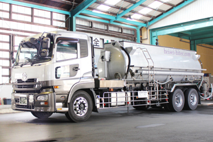 化学工業薬品輸送,産業廃棄物収集・運搬のイメージ